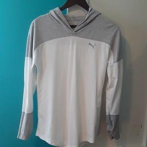 Women's puma long sleeve shirt